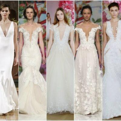 Свадебные платья - тенденции сезона весна/лето 2017