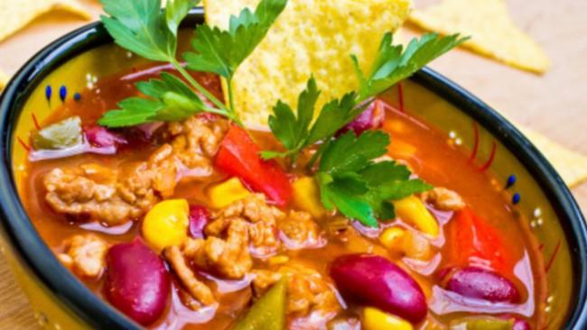 Мексиканский суп тако